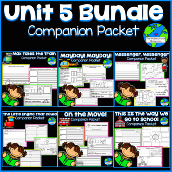 RS SideKick K Unit 5 [ALL 6 Packets in 1 Bundle]{Compatible with Reading Street}