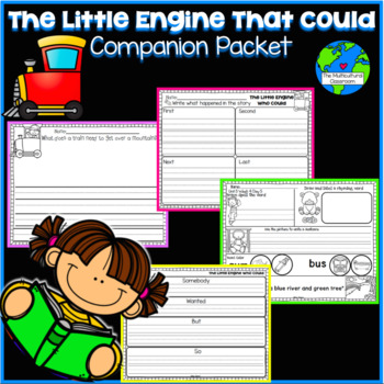 RS SideKick K Unit 5 The Little Engine that Could {Compatible Reading Street}
