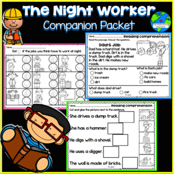 RS SideKick K Unit 6 The Worker {Compatible with Reading Street}
