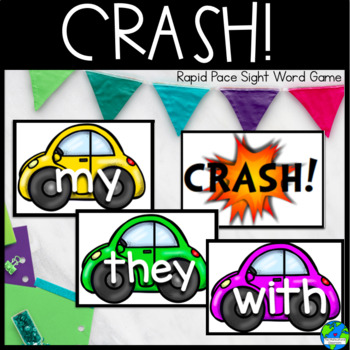Reading Street K sight words rapid pace game CRASH!