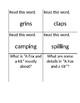 Reading Street Kagan Quiz Quiz Trade Cards Unit 1 Week 4