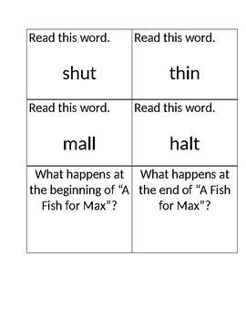 Reading Street Kagan Quiz Quiz Trade Cards Unit 2 Week 1