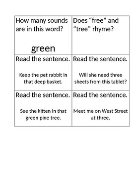 Reading Street Kagan Quiz Quiz Trade Cards Unit 2 Week 6