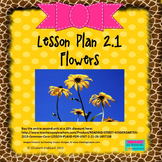 Flowers:  Editable Lesson Plan