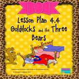 Goldilocks and the Three Bears:  Editable Lesson Plan