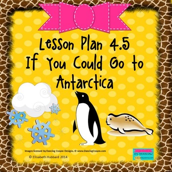 If You Could Go to Antarctica:  Editable Lesson Plan