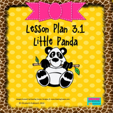 Little Panda:  Editable Lesson Plan