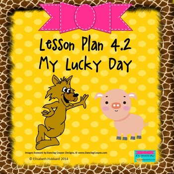 My Lucky Day:  Editable Lesson Plan