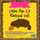 Plaidypus Lost:  Editable Lesson Plan