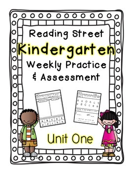 Reading Street Kindergarten Assessment and Review Pack