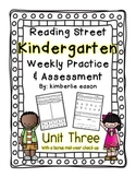 Reading Street Kindergarten Assessment and Review Pack Unit 3