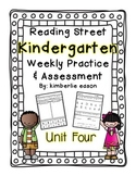 Reading Street Kindergarten Assessment and Review Pack Unit 4