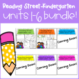 Reading Street Kindergarten Bundle!