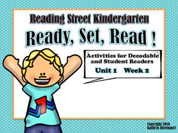 Kindergarten Decodable Readers Worksheets & Teaching Resources | TpT