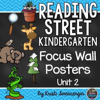 Reading Street Kindergarten Focus Wall Unit 2