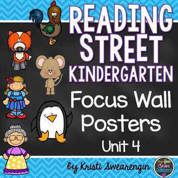 Reading Street Kindergarten Focus Wall Unit 4
