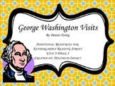 "Reading Street Kindergarten ""George Washington Visits"" Resources"