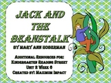 "Reading Street Kindergarten ""Jack and the Beanstalk"" Resources"