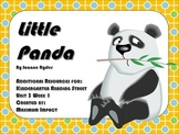 "Reading Street Kindergarten ""Little Panda"" Resources"