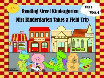 Reading Street Kindergarten Miss Bindergarten Takes a Field Trip  Unit 1 Week 4