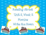 Write the Room Phonics Kindergarten- Aligned with Reading Street Unit 5 Week 2