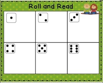 Reading Street Kindergarten Roll and Read Unit 1
