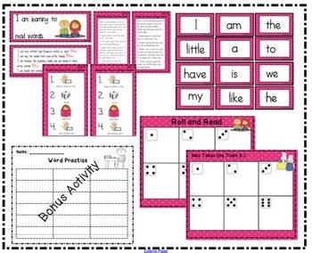 Reading Street Kindergarten Roll and Read Unit 5