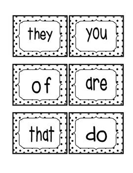 Reading Street Kindergarten Sight Word Bundle (2013 Common Core Edition)