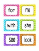 Reading Street Kindergarten Sight Word Bundle (2013 Common
