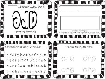 Kindergarten Sight Words Foldable Books - Aligned to Reading Street Unit 4