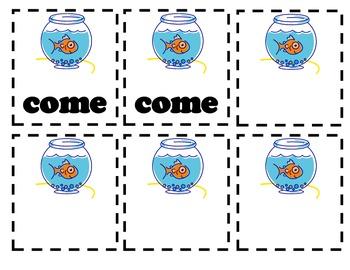 Reading Street Kindergarten Sight Words Go Fish