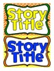 Reading Street Kindergarten Story Title Headers for Focus Wall (Primary Colors)