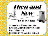 "Reading Street Kindergarten ""Then and Now"" Resources"