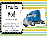 "Reading Street Kindergarten ""Trucks Roll!"" Resources"