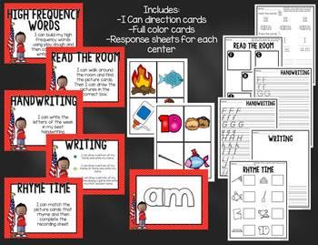 Reading Street Kindergarten Unit 1 Centers Bundle