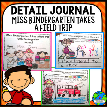 RS Sidekick Kindergarten Unit 1  Miss Bindergarten detail journal