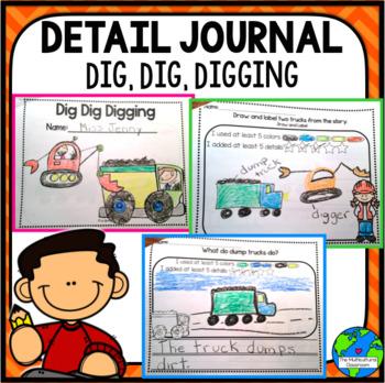 RS Sidekick Kindergarten Unit 1  Digging detail journal