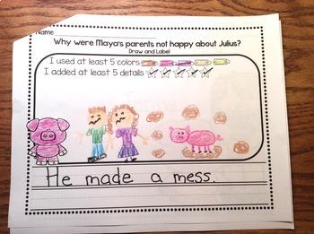RS Sidekick Kindergarten Unit 1 Pig Journal