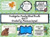 Reading Street Kindergarten Unit 2 Bundle of Resources