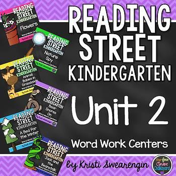 Reading Street Kindergarten Unit 2 Centers Bundle