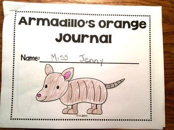 RS SideKick Kindergarten Unit 2 Armadillo correlating journal