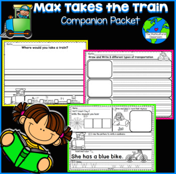 Max Takes the Train Companion Packet