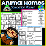 Animal Homes Companion Packet