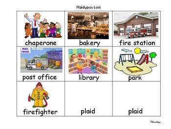 Reading Street Kindergarten Word Banks
