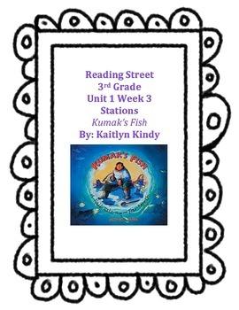 Kumak's Fish Reading Street Unit 1 Week 3