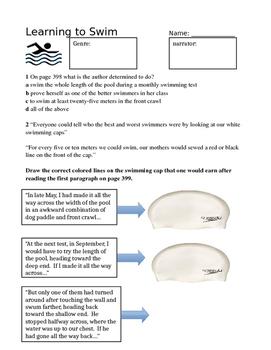 Reading Street: Learning to Swim Grade 6 Unit 3 Week 3