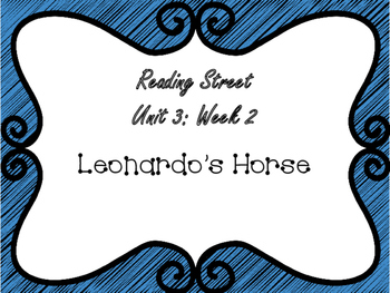 Reading Street: Leonardo's Horse Focus Wall Pack