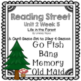 Reading Street: Life in the Forest 4-in-1 Spelling and HFW Games