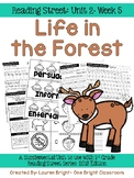 Reading Street- Life in the Forest Supplemental Unit {Unit 2: Week 5}