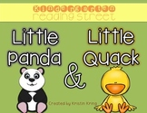 "Reading Street ""Little Panda"" and ""Little Quack"" Packet"